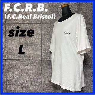エフシーアールビー(F.C.R.B.)のF.C.R.B. エフシーアールビー 半袖 Tシャツ バックロゴ サイズL(Tシャツ/カットソー(半袖/袖なし))