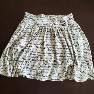 ジェニィ(JENNI)のJENNI インナー付きロゴスカート 160センチ(スカート)