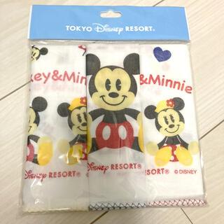 ディズニー(Disney)の新品未開封 東京ディズニーリゾート ガーゼ セット(キャラクターグッズ)