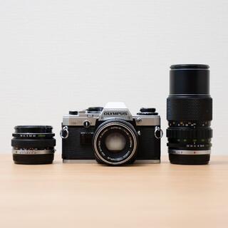 OLYMPUS - OLYMPUS オリンパス OM10 レンズ3本/28mm 50mm 135mm