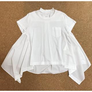 sacai - sacai  ★未使用 紙タグ付き 2020correction Tシャツ 3