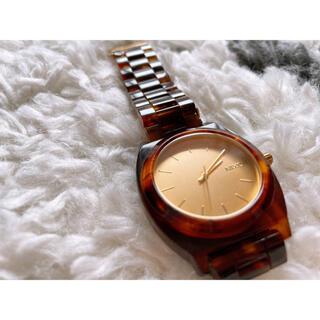 ニクソン(NIXON)のNIXON べっ甲腕時計(腕時計)