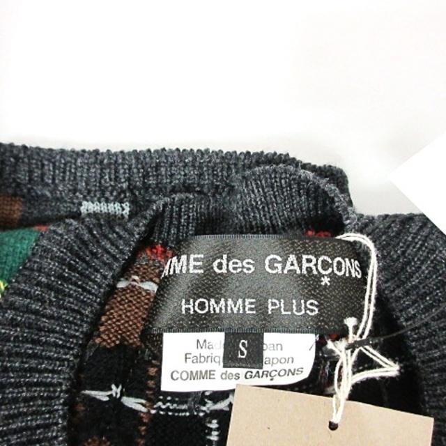 COMME des GARCONS HOMME PLUS(コムデギャルソンオムプリュス)のコムデギャルソンオムプリュス 20AW ドッキング ニット タータンチェック S メンズのトップス(ニット/セーター)の商品写真