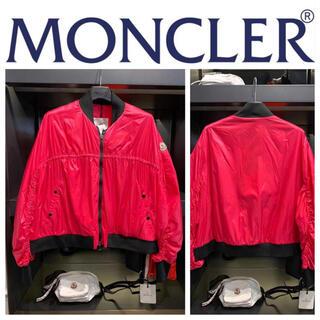 モンクレール(MONCLER)のモンクレール SALE  ロゴ付き ブルゾン(ブルゾン)
