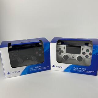 PlayStation4 - PS4 ワイヤレスコントローラー 純正 デュアルショック4 プレステ 2個セット