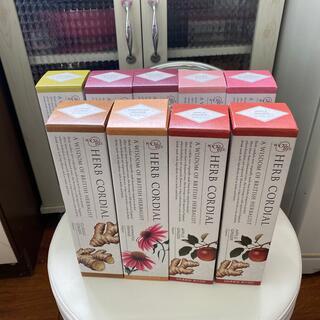 セイカツノキ(生活の木)の未開封 生活の木 ハーブコーディアル 9本セット販売賞味期限間近の為(茶)