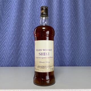 マース(MARS)のマルスウイスキー SHIKI シキ ヤマソービニオンカスクフィニッシュ (ウイスキー)