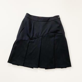 ヴィヴィアンウエストウッド(Vivienne Westwood)のヴィヴィアンウエストウッド プリーツスカート 3 黒(ひざ丈スカート)