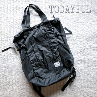 TODAYFUL - TODAYFUL 2way バックパック トートバッグ