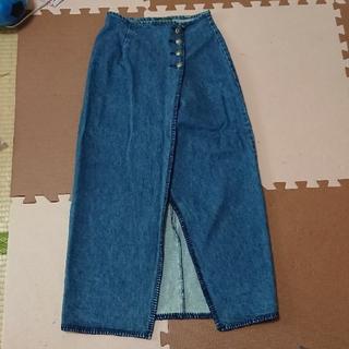 ラルフローレン(Ralph Lauren)の ラルフローレン デニムラップスカート(ロングスカート)