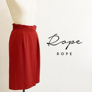 ロペ(ROPE)のROPEロペ☆ラップスカート風タイトスカート(ひざ丈スカート)