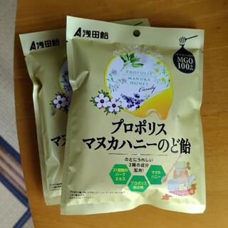 のど飴 二袋(菓子/デザート)