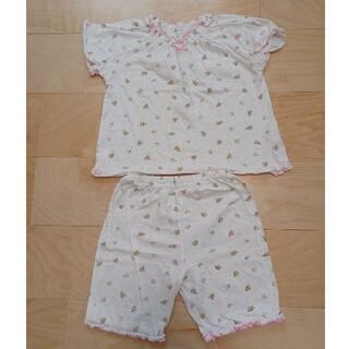 ニシマツヤ(西松屋)の中古 美品 女の子 110 パジャマ 半袖 可愛い 保育園 お昼寝(パジャマ)