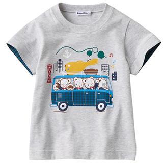 familiar - 現行品早い者勝ち!おはなしTシャツ
