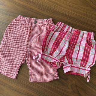 スキップランド(Skip Land)の90 女の子パンツ 2枚(パンツ/スパッツ)