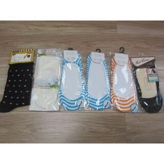 シマムラ(しまむら)の未着用 靴下6足セット ダイソー しまむら 足袋 足カバー フットカバー(ソックス)