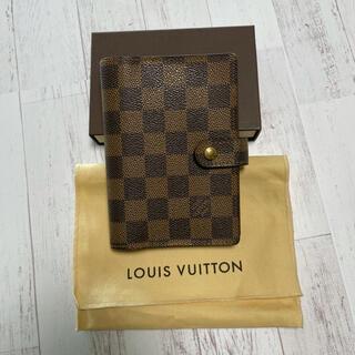 ルイヴィトン(LOUIS VUITTON)の【美品】Louis Vuitton(ルイヴィトン)※ダミエ※手帳(手帳)