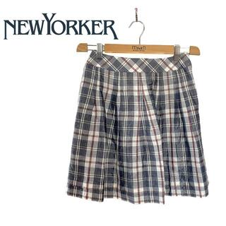 NEWYORKER - NEWYORKER WOMEN ニューヨーカー ウィメンズ チェック柄 スカート