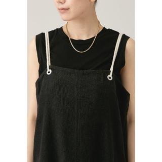 ドゥーズィエムクラス(DEUXIEME CLASSE)の【5AWARENESS】ノースリーブTシャツ ブラック(タンクトップ)