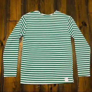 SAINT JAMES - Russian Тернашка Green Striped Shirt