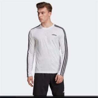 adidas - 新品アディダス ロングスリーブ 長袖Tシャツ トレーニング シャツ トップス