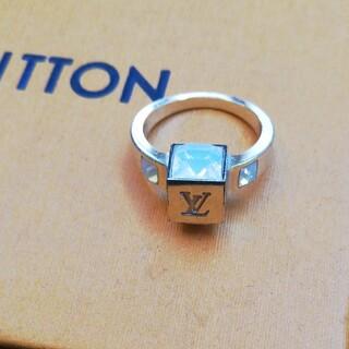 ルイヴィトン(LOUIS VUITTON)の売ります!セール!正規ルイヴィトンリングSサイズ(リング(指輪))