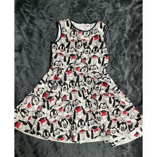 ディズニー(Disney)のワンピース ミッキーフレンズ グーフィ ドレス(ひざ丈ワンピース)