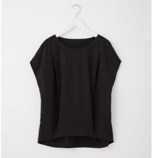 プラステ(PLST)のシルケットテンジク ボートネック Tシャツ(Tシャツ(半袖/袖なし))
