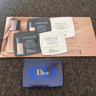 クリスチャンディオール(Christian Dior)の6/11お値下げ☆Dior ディオール ファンデーションサンプルセット(サンプル/トライアルキット)