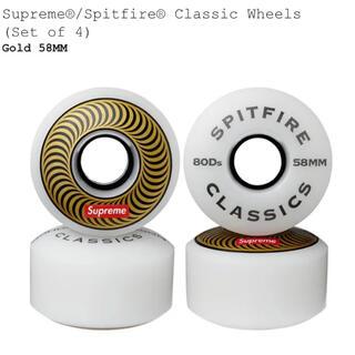 シュプリーム(Supreme)のSupreme Spitfire Classic タイヤ 58mm(スケートボード)