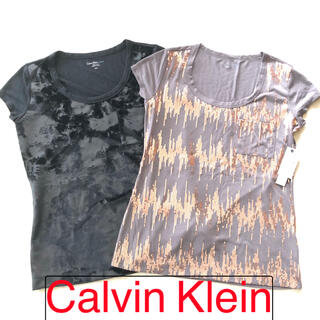 カルバンクライン(Calvin Klein)の新品 Calvin Klein カルバンクライン Tシャツ 2枚セット(Tシャツ(半袖/袖なし))
