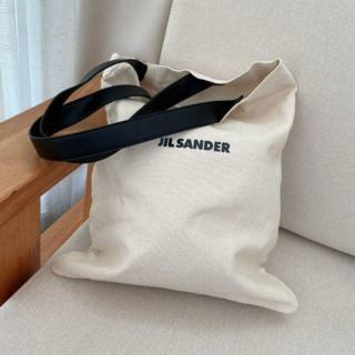 ジルサンダー(Jil Sander)のJIL SANDER トートバッグ エコバッグ(ショルダーバッグ)