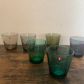 イッタラ(iittala)のイッタラ カルティオ グラス 6個セット❣️(グラス/カップ)