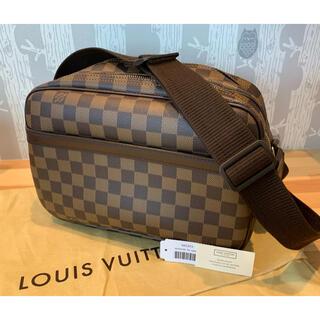 ルイヴィトン(LOUIS VUITTON)の美品 ルイヴィトン リポーターPM ダミエスペシャルオーダー (ショルダーバッグ)