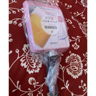 キョウセラ(京セラ)の京セラ ガス用卵焼き❤︎ピンク色(鍋/フライパン)