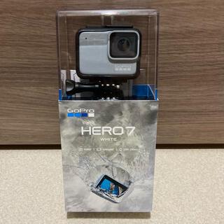 ゴープロ(GoPro)のGoPro HERO7 WHITE(ビデオカメラ)