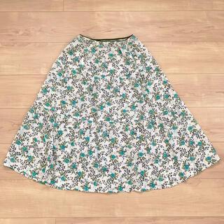オリーブデオリーブ(OLIVEdesOLIVE)のOLIVE des OLIVEの小花柄フレアスカート(ひざ丈スカート)