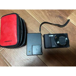 リコー(RICOH)のリコー RICOH デジタルカメラ CX3 ブラック(コンパクトデジタルカメラ)