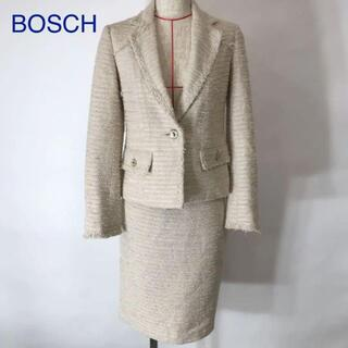 BOSCH - BOSCH ボッシュ ツイード スカート ジャケット セットアップ