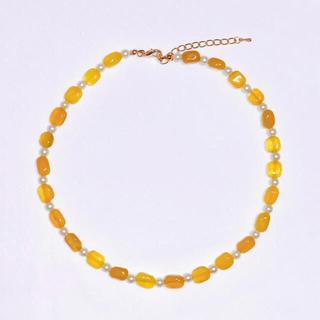"""Adam et Rope' - 64 handmade necklace """"YELLOW MARINE"""""""