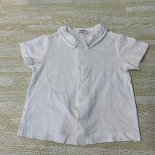 ファミリア(familiar)のファミリア 白シャツ 80(シャツ/カットソー)
