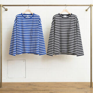 UNUSED -  unused  17ss ボーダー tシャツ us1258 outil