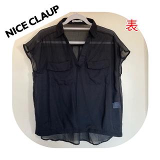 ナイスクラップ(NICE CLAUP)のシアーシャツ シースルーシャツ(シャツ/ブラウス(半袖/袖なし))