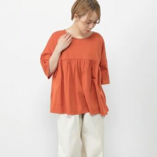 スタディオクリップ(STUDIO CLIP)のスタディオクリップ 切り替えギャザー  Tシャツ(Tシャツ(半袖/袖なし))