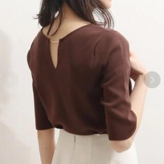 ノーブル(Noble)のNOBLE 2WAYハーフスリーブプルオーバー(Tシャツ/カットソー(半袖/袖なし))