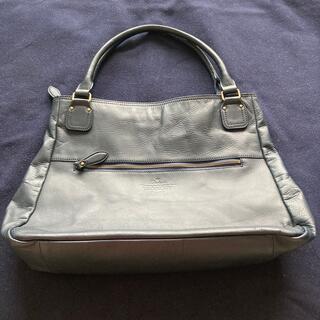 ダコタ(Dakota)のDakota本革ユニセックストートバッグ濃紺色良品(トートバッグ)