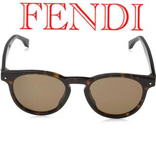 FENDI - FENDI  フェンディ ダークハバナ ブラウン べっ甲柄 美品