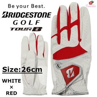 ブリヂストン(BRIDGESTONE)の新品 BRIDGESTONE ブリヂストン ゴルフ グローブ 全天候型 26cm(ウエア)