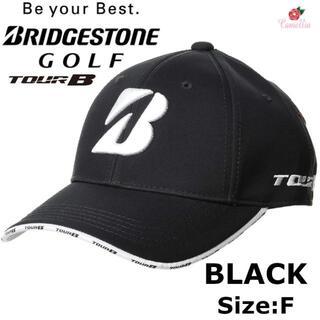 ブリヂストン(BRIDGESTONE)の新品 ブリヂストン ツアービー ゴルフキャップ メンズ BK フリー(キャップ)