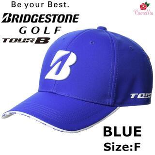 ブリヂストン(BRIDGESTONE)の新品 ブリヂストン ツアービー ゴルフキャップ メンズ BL フリー(キャップ)
